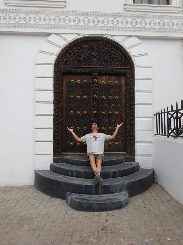 Gotta show off the doors. Stone Town, Zanzibar, Tanzania