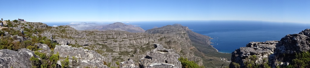 From the top of Table Moutain, Cape Town, South Africa.
