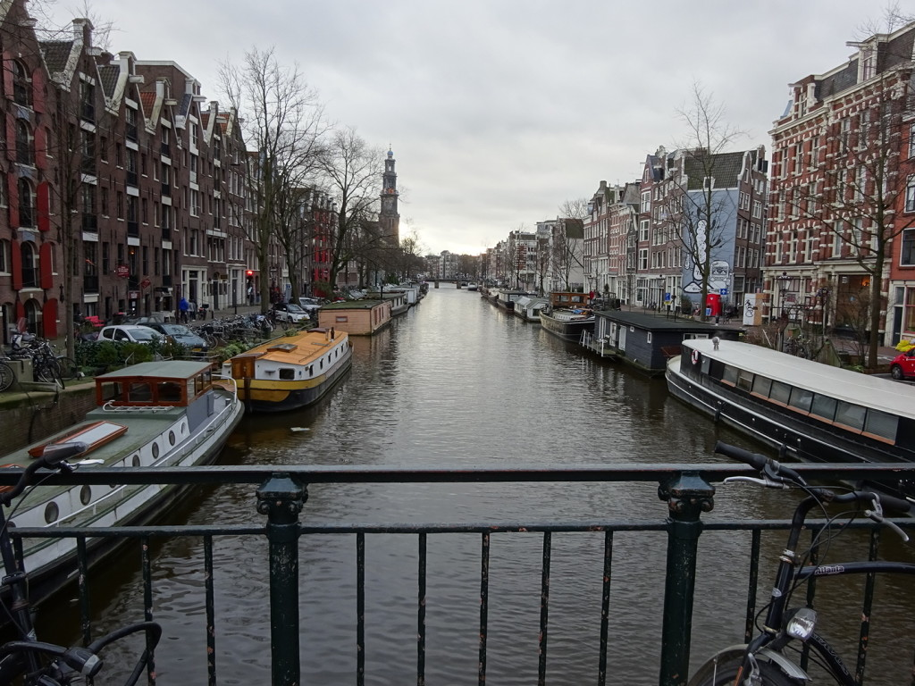 Canals were everywhere! Never been in a city so criss-crossed by water.