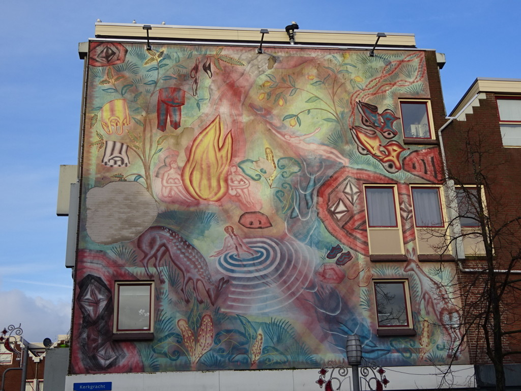Dimphy took us all around Alemer and we passed a couple of fantastic urban murals.