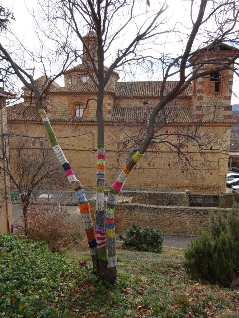 Yarn Bomb.
