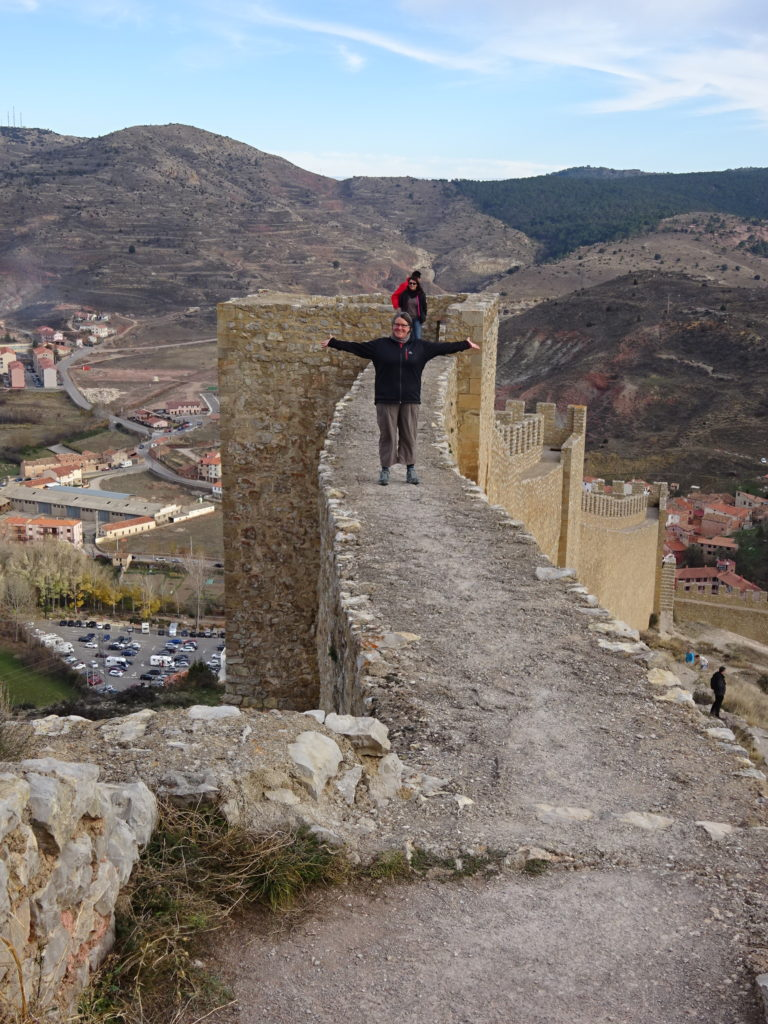 A walk on the castle wall.