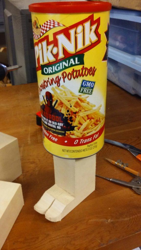 Pik-Nik potato sticks, a mother's favorite!