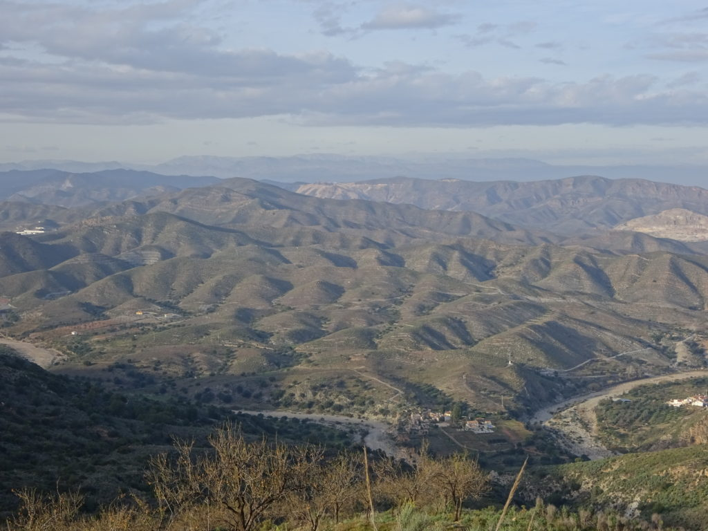 When traveling from Lubrin to Gurracha you basically decend 20 miles straight down and that means, amazing territorial views.